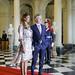Encuentro entre la primera dama argentina, Juliana Awada y la primera dama francesa, Brigitte Macron
