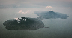 Isla de Ometepe from an Airplane (Alexander H.M. Cascone [insta @cascones]) Tags: central america lago de nicaragua lake volcano volcanoes sky island isla view landscape plane earth nature natural water mountain travel viaje backpacker mochilero airplane dinosaurs live here