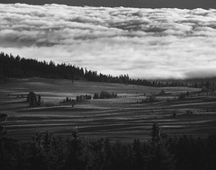 Fields of Clouds (CEBImagery.com) Tags: crater fog lake layers national oregon park