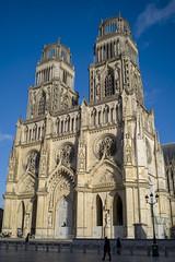 Orléans (Christophe Laakmann) Tags: flickrtravelaward 35mm voigtländer m10p leica cathédrale églises street france orléans church