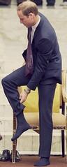 HRH, Prince William of the United Kingdom of Great Britain and Northern Ireland, Duke of Cambridge adjusts the hem of his right sock after removing his shoes whilst visiting Assyakirin Mosque in Kuala Lumpur, Malaysia in 2012. (crownprincefrederikofdenmark) Tags: princewilliam princewilliamofwales prince princewilliamdukeofcambridge dukeofcambridge duke royalty royal royalmen britishroyalfamily dressshoes maleshoes gayshoefetish leathershoes blackshoes malesocklovers gaysocklovers socklovers gaysockfetish malesocks dresssocks socks navysocks bigfeet malefeet feet footfetish footlovers gayfootfetish gay malefootlovers unitedkingdom kingdom mosque islam muslim kualalumpur malaysia 2012 assyakirinmosque