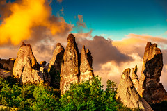 Sunset Gift (BeNowMeHere) Tags: ifttt 500px trip afyon benowmehere colour gift nature rock rockformation sky sunset sunsetgift turkey cloud clouds color colorful colourful skyscape travel hill landscape mountain range fog peak dramatic dawn scenics