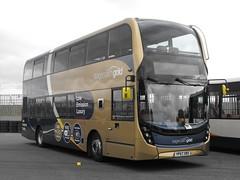 15348, YP67 XBX, Scania N250UD, ADL Enviro400 MMC Body, 2017 (t.2018) (Andy Reeve-Smith) Tags: 15348 yp67xbx stagecoach stagecoachgold scania n250ud adlenviro400 stagecoachwest adlenviro400mmc alexander alexanderdennis showbus 2018 showbus2018 doningtonpark donington castledonington derbyshire derbys leicestershire leics neleics