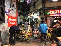 Area around Bia Hoi Corner in Hanoi (gbuckingham89) Tags: asia bar bars biahoicorner cafes hanoi restaurant street streetlife travel vietnam