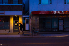 late night denizen (IONclad Photo) Tags: calgary ionclad center environmentals evening flickr landscape north online street sunset