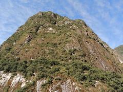 Mountain from below, Machu Picchu