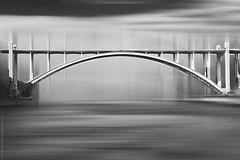 The Bridge (ricardocarmonafdez) Tags: puente bridge rio river structure estructura arco arch edition effect monocromo monochrome blackandwhite bn canon 60d 1785isusm