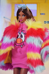 It ain't my fault that I'm out here makin' news (DollTheRage) Tags: integrity toys janay industry your puppet luxe life dolls bright muppet miss behave style lab