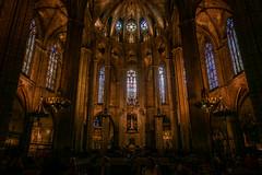 In der Kathedrale von Barcelona (Doblinus) Tags: 2018 kathedrale msartania lacatedraldelasantacreuisantaeulàlia sonyrx100 sony kreuzfahrt barcelona spanien mittelmeer
