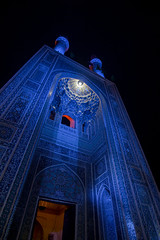 Jameh Mosque of Yazd (Robin Geys) Tags: iran nikon d90 persia jameh mosque yazd blue tokina atx 1224mm f4