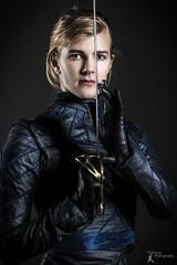 Cosplay - Orisen (FightGuy Photography) Tags: sword orisencosplay blonde gloves studio union206 cosplay jacket saber