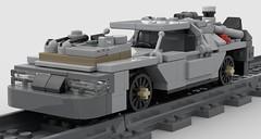 lego DeLorean time machine moc (KaijuWorld) Tags: lego moc custom delorean back future marty doc brown 80s time machine dmc ldd
