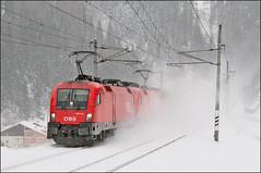 1016 046, Sankt Jodok am Brenner (AT), 04/01/19 (bontybermo402) Tags: 1016 1016046 taurus obb sankt jodok brenner brennerbahn 1116 1216 siemens austria