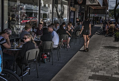 The planned shot (Ian@NZFlickr) Tags: candid photography plan planning know your subject napier cafe nz