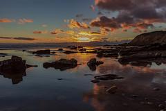 Another Day (---ZaBBeY---) Tags: beach canon sunset santabarbaracounty coastal coastline water reflection pacificocean california clouds cloudsstormssunsetssunrises dcc nautre ocean sea greatphotographers
