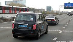 LEVC TX e-City 2018 (XBXG) Tags: sv100x levc tx ecity 2018 taxi cab black electric electrisch électrique a10 zuid ring amsterdam nederland holland netherlands paysbas british car auto automobile voiture anglaise uk brits vehicle outdoor