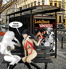 Fake News (Cremdon) Tags: ladydeath vampirella actionfigures 16scale
