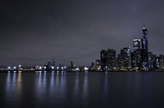 View from Navy Pier (mckeenjohn32) Tags: chicago navy pier night lakeside lake michigan landscape long exposure