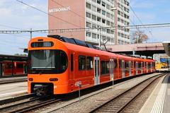 2018-08-07, RBS, Worblaufen (Fototak) Tags: schmalspurbahn treno train railway worbla stadler rbs switzerland 01