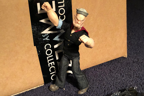mezco mezcoone12collective popeye (Photo: misterperturbed on Flickr)