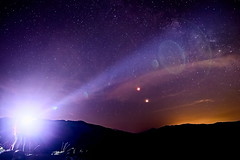 Sky & Ligth (Strocchi) Tags: eclipse eclissi luna moon mars sky cielo night notte lights luci milky way longexposure tripod sigma 20mm canon eos6d lensflare stars stelle star
