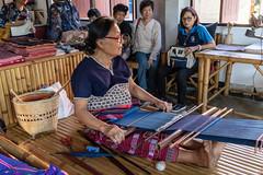 RFE 7090 to 3360 Phrae Day 1  by Terry Babij--3553 (Terry Babij) Tags: 2018 fabric fiolk historic looms musicalinstrumentmaker phrae rfe rfe2018 thailand tradionalinstruments weaving