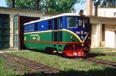Pionierbahn / Children's railway Lviv: TU3-039 Lviv 25052003 A (Paul-760) Tags: uz ukraine oekraine ukrain lviv lvov childrens railway pionierbahn 750mm tu3 ty3