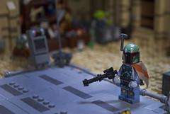 Boba Fett (Ben Cossy) Tags: bounty hunter clone wars star war mando mandalore mandalorian lego moc afol tfol tatooine