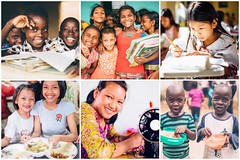 Peace Gospel celebrates 25 years of serving orphans and trafficking survivors with the support of 232 tons of produce yielded from our farmland projects in Asia and Africa (Peace Gospel) Tags: collage children kids cute adorable smiles smiling happy happiness joy joyful peace peaceful hope hopeful thankful grateful gratitude school classroom uniforms reading writing learning studying education students food mealtime nutrition sustainability sewing creating creativity handmade handcrafted craftsmanship crafting empowerment empowered