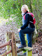 Mary on the stile (Mary&Neil) Tags: elements mary canon eos80d