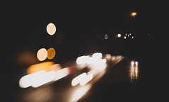 periphery (cara zimmerman) Tags: highway interstate indianapolis night freelensing lighttrails cars freeway