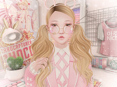 Etoile (Closer) (Gabriella Marshdevil ~ Trying to catch up!) Tags: sl secondlife cute kawaii doll laq etoile wasabipills applier bento