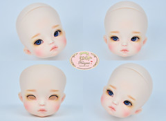 Petite Jiwoo (♥..Nomyens..♥) Tags: bjd balljointdoll toy doll custom faceup paint painting painted repaint handmade nomyens nomyenscom petitejiwoo tiny tiyndoll