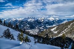 Gehrenspitze, Köllenspitze und Große Schlicke vom Koflerjoch Koflerjoch (stefangruber82) Tags: alps alpen winter tirol tyrol snow schnee mountains berge