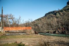Site of the Historic HoneyRun Bridge (FISH-BIO) Tags: buttecreek campfire forest fire butte county honeyrun bridge historicbridge