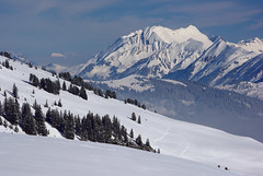 Winter landscape (Tjaldur66) Tags: beatenberg bern winter winterwonderland winterlandscape snow peak outdoor hiking switzerland swissalps swissmountains mountains view panorama