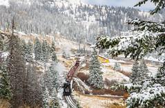 Cumbres Pass (Kyle Yunker) Tags: cumbres toltec scenic railway cts pass railroad steam train snow colorado locomotive