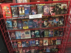 "Horror Movie Rack at Slashback Video • <a style=""font-size:0.8em;"" href=""http://www.flickr.com/photos/28558260@N04/31352133267/"" target=""_blank"">View on Flickr</a>"