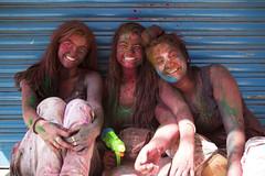 _MG_1162 (FreyaBroos) Tags: girl smile colorful colorfestival holi rishikesh india