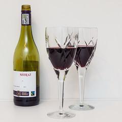 365.12 - Cheers (AmyGStubbs) Tags: 12jan19 2019 365the2019edition 3652019 day12365 e30 fl50 flash olympus olympus1260f284edswd wine