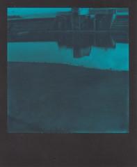 Lido Reflections (ifleming) Tags: sx70600 polaroidsx70 600bluefilm polaroidoriginals savegrangelido grangeoversands lido