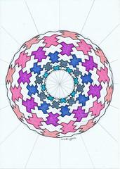 20181103_0001 (regolo54) Tags: toroid torus torso geometry symmetry handmade mathart regolo54 circle disk
