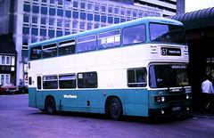 Slide 125-29 (Steve Guess) Tags: yorkshire england gb uk bus westriding leyland olympian b605uum pontefract