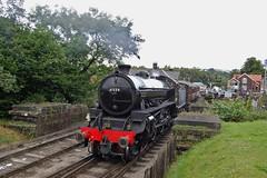 Grosmont Departure (paul_braybrook) Tags: 61264 lner classb1 steamlocomotive grosmont nymr northyorkshiremoors pickering heritage railway trains