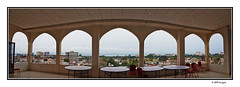 fifth floor (harrypwt) Tags: harrypwt gabon samsungs7 s7 africa afrika libreville windows sea water coastal city hotel cityscape landscape panoramic panorama