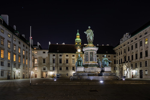 Courtyard of the Vienna Hofburg