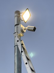"4 x Hikvision Bullet IP Cameras Installed on the CCTV Column in Brentford, Hounslow, London. • <a style=""font-size:0.8em;"" href=""http://www.flickr.com/photos/161212411@N07/32254863478/"" target=""_blank"">View on Flickr</a>"
