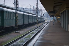Nikolaus ride (tamson66) Tags: train station prague smíchov december2018 nikolausexpress railroad steam