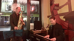 Andy Nicholls & Chris Conway at The Cactus Cafe (unclechristo) Tags: chrisconway andynicholls cactuscafe
