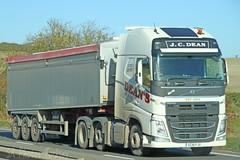 Volvo FH Bulk Tipper JC Dean GC18 PJX (SR Photos Torksey) Tags: transport truck haulage hgv lorry lgv logistics road commercial vehicle freight traffic volvo fh tipper dean